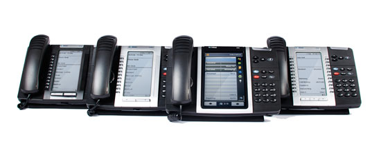 Telephone System Quotes - Handsets of the Mitel MiVoice System